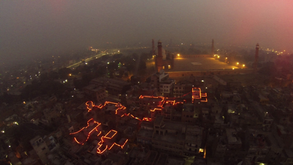 Black Spring Lahore lights